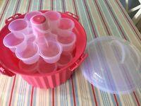 Cupcake carrier hobbycraft pink