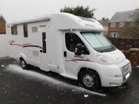 Rapido 7066DF, 2011, 3 Berth, Low Profile, Fiat 3.0D, 2 Fixed Beds, Rear Garage!