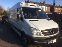 Mercedes Sprinter 2.2 CDI FRIDGE VAN DUBBLE TUBE TYRES.not.Honda.toyota.nissan.mitsubishi