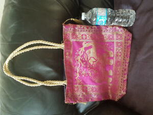 Classical and ethnic Handbags
