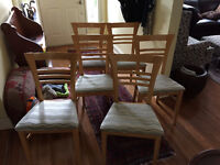 Table & 6 chairs - NEW LOWER PRICE
