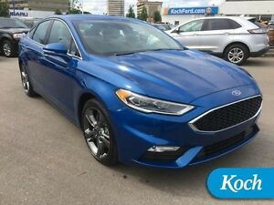 2017 Ford Fusion Sport  Twin Turbo V6, 380 lb-ft torque!