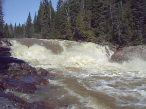 160 acres on Blanche river near Englehart, hydro power potential