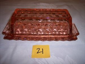 Pink depression glass - Part 4 - collection