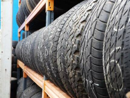 4X4 SALE USED 265 65 17 GOODYEAR DUNLOP HANKOOK TYRES FROM $39 Ferntree Gully Knox Area Preview
