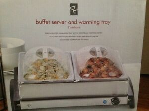 Buffet Server/Warming Tray Brand New in Box
