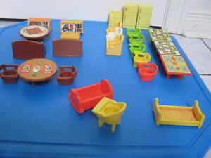 Vintage Fisher Price Little People furniture Oakville / Halton Region Toronto (GTA) image 1