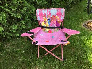 chaise pliante Disney Princess