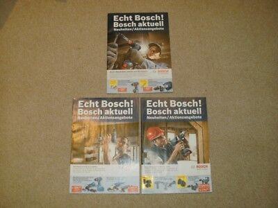 Bosch aktuell - Neuheiten / Aktionsangebote Heft 3/2012 + Heft 2/2013 + 3/2013