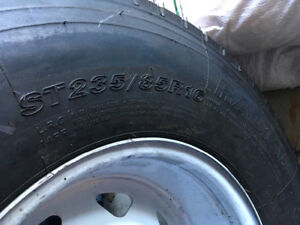 Sailing all steel belted radial tractor trailer tire