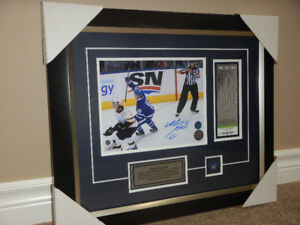 Mitch Marner 8x10 Signed & Framed w/ COA Toronto Maple Leafs