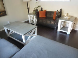 New Coffee Table / End Tables