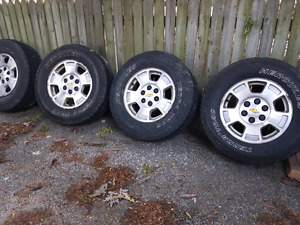 17 inch gm rims and tires NEED GONE
