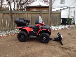 2011 POLARIS 500 HO WITH ONLY 176 MILES