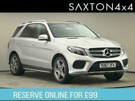 image for 2017 Mercedes-Benz GLE CLASS 3.0 GLE350d V6 AMG Line (Premium) G-Tronic 4MATIC (