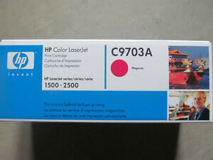 HP Laser Jet cartridges and drum - various sizes see pictures