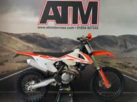 KTM XCF350 2017 MOTOCROSS ENDURO BIKE, ROAD REG (AT MOTOCROSS)