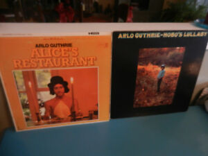 Vinyl Records/LP's Arlo Guthrie Lot of 2 Alice's Restaurant,Hobo