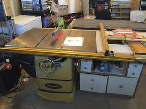Table saw powermatic 2000 5hp 230v with incra LS micro fence