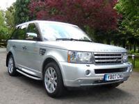 2007 Land Rover Range Rover Sport 2.7 HSE TDV6 auto 80,000 Miles F/S/H