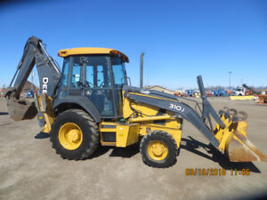 2012 JOHN DEERE BACKHOE JUST LIKE BRAND NEW WITH LOW LOW HOURS