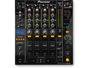 Pioneer DJM850 - professional 4 channel DJ mixer