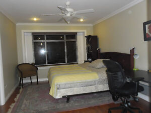 furnished large room for international homestay student