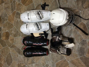 Hockey gear for sale in great condition