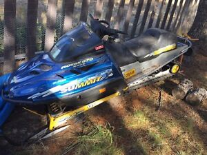 Skidoo summit 670 new motor