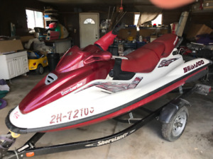 Seadoo GTX  Brand new trailer and new top end with cover