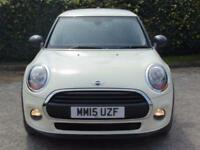 2015 15 MINI HATCH ONE 1.5 ONE D 3D 94 BHP DIESEL