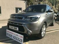2014 14 KIA SOUL 1.6 CONNECT PLUS 5D 130 BHP**FSH**1 LADY OWNER FROM NEW**