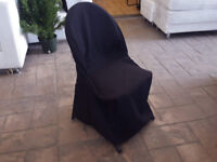 CHAIR COVER - BLACK (FIT)