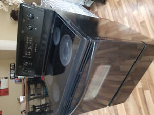 Frigidaire glass black top stove