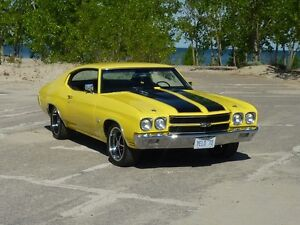 GORGEOUSE PEARL OVER YELLOW 1970 CHEVELLE SS