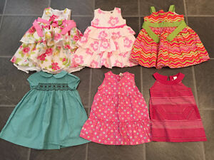 EXCELLENT CONDITION spring & summer clothes sizes 18,18-24months