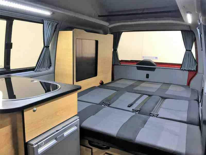 434855e53f Danbury Trail VW Camper Van - King Size Bed - 5 seats - Spacious Interior
