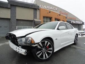 Dodge Charger SRT-8 6,4L,GPS, CRUISE ADAPT, TOIT, CAM ET SONARS,