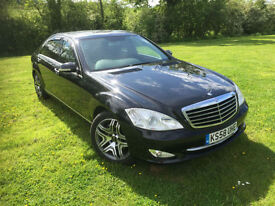2009 Mercedes-Benz S320L 3.0TD 7G-Tronic AMG WHEELS BLACK/BLACK