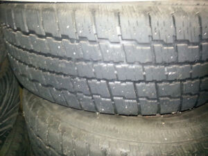 Cooper Winter Tires 215 65 16 on Steel Rims