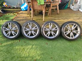 Genuine BMW 436m M140i/m135i ferric grey alloys wheels & tyres