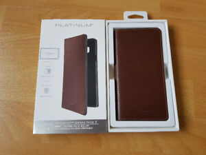Samsung Galaxy Note 9 Case Platinum Brown.