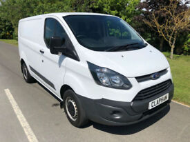 2014 14 FORD TRANSIT CUSTOM 2.2TDCi 290 100BHP L1 H1 ANY UK DELIVERY NO VAT