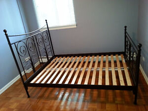 Ikea Queen Size Bed Frame for $125