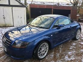 Audi TT genuine 39k from new! PETROL MANUAL 2005/55