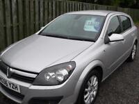 Vauxhall Astra 1.6i 16v 2007 Design Mot'd / Service history / 1 YRS MOT