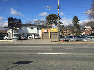 used car dealership and mechanic shop for lease