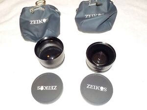 Two Camera Lenses Zeikos