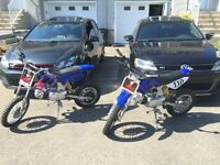 Dirt bike for sale! Together/individual make an offer!