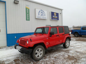 2011 Jeep Wrangler Sahara Unlimited